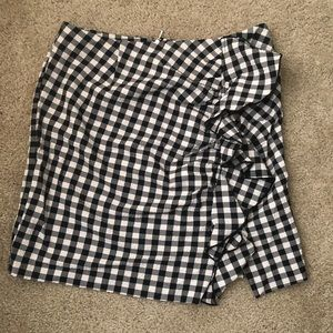 Checked H&M Skirt